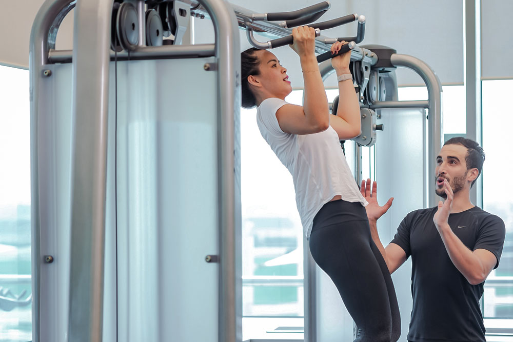 PERSONAL TRAINERS FOR MEMBERS AND NON-MEMBERS
